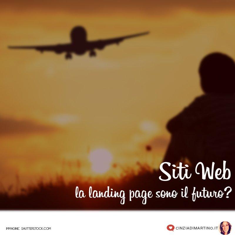 Siti web: le landing page sono il futuro?