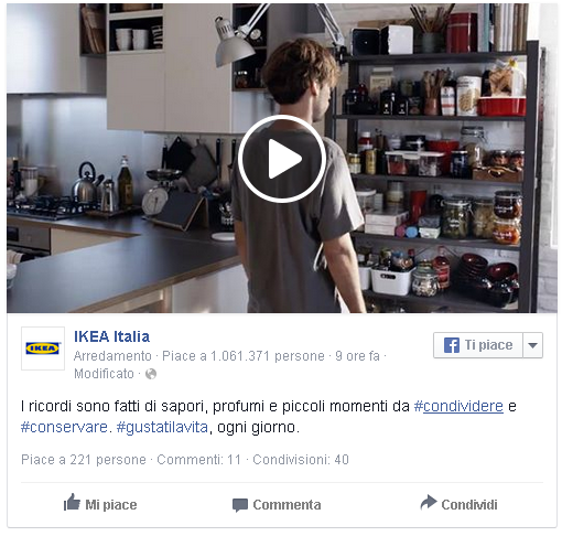 Content Marketing: ikea e i ricordi