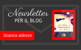 Newsletter per il Blog