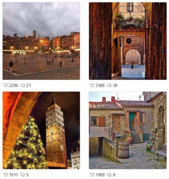 Discover Tuscany | Instagram e Pinterest a servizio del turismo