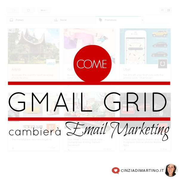 Come Gmail Grid cambierà l'email marketing