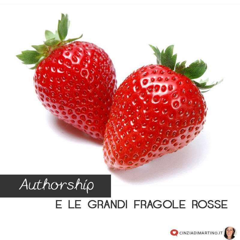 L'Authorship e le grandi fragole rosse