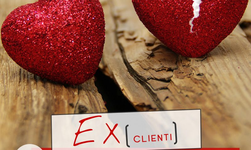 Ex clienti: 5 cose da imparare quando finisce un amore