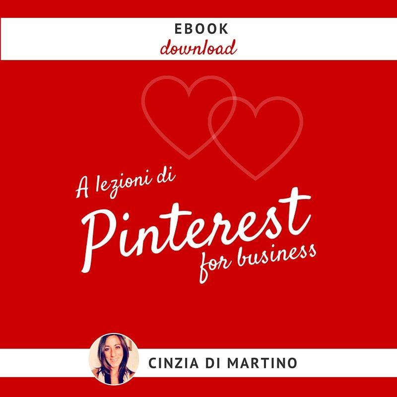 [Ebook] Pinterest per il Business