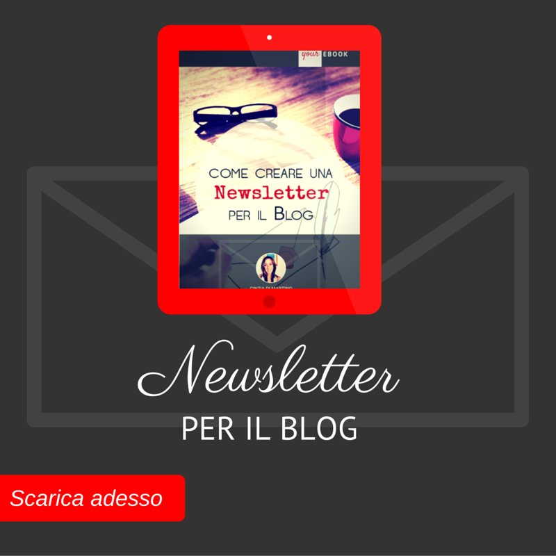 [Ebook] Newsletter per il Blog
