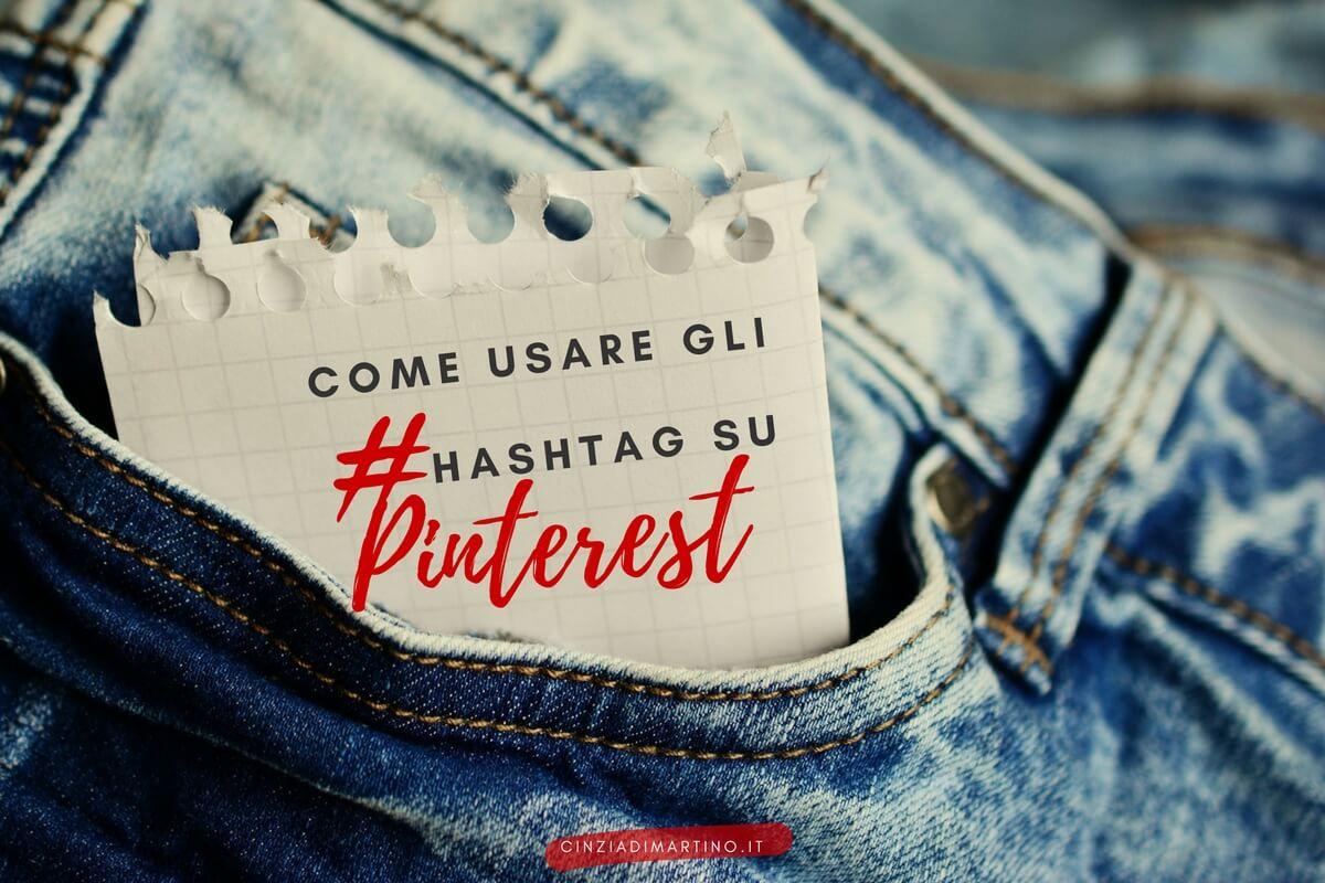 Come usare gli hashtag su Pinterest