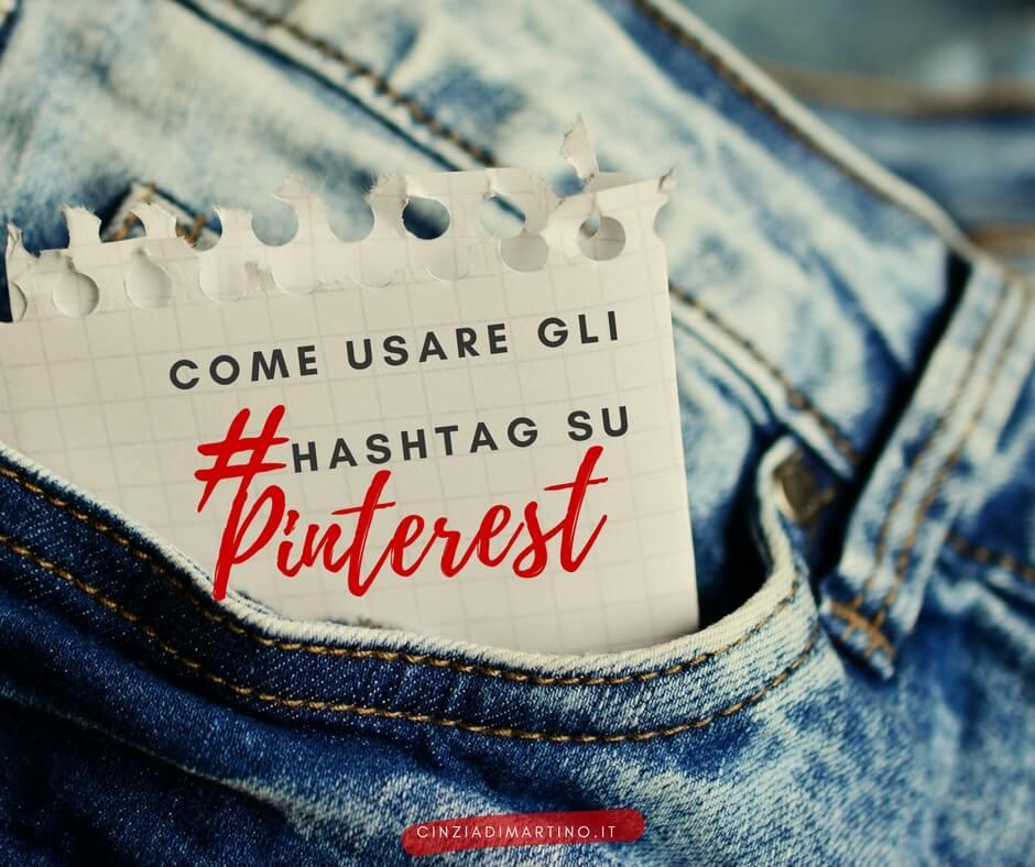Come usare gli hashtag su Pinterest | Cinzia Di Martino