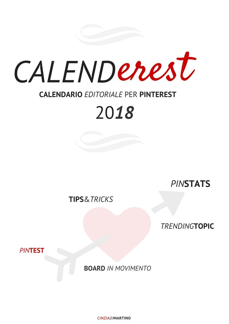 Calenderest 2018 | Il calendario editoriale per Pinterest
