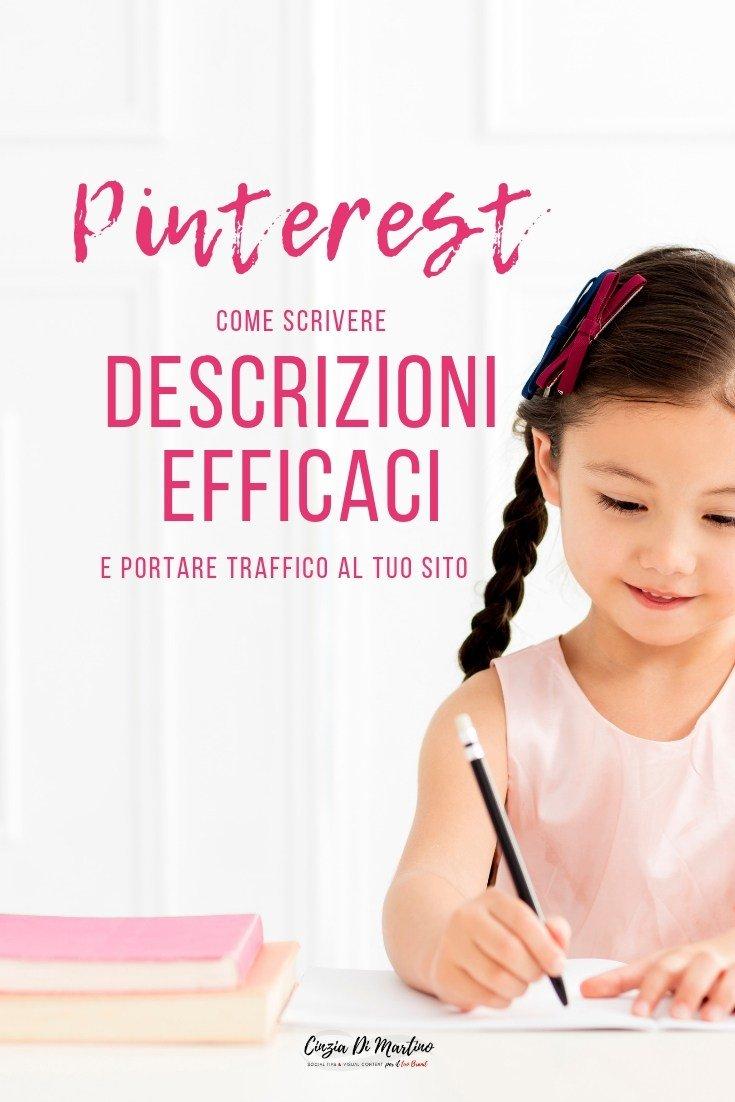 Come scrivere descrizioni efficaci su Pinterest | Cinzia Di Martino