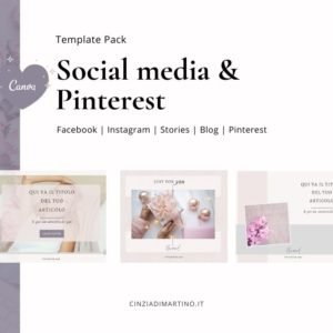 Canva Template Pack | Orchid Beauty | Cinzia Di Martino