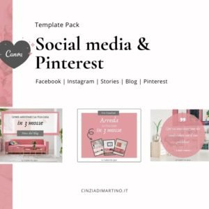 Canva Template Pack | Pink Lifestyle | Cinzia Di Martino