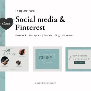 Canva Template Pack | Ocean Breeze | Cinzia Di Martino