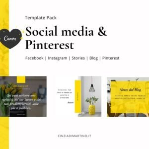 Canva Template Pack | Sizzling Yellow | Cinzia Di Martino