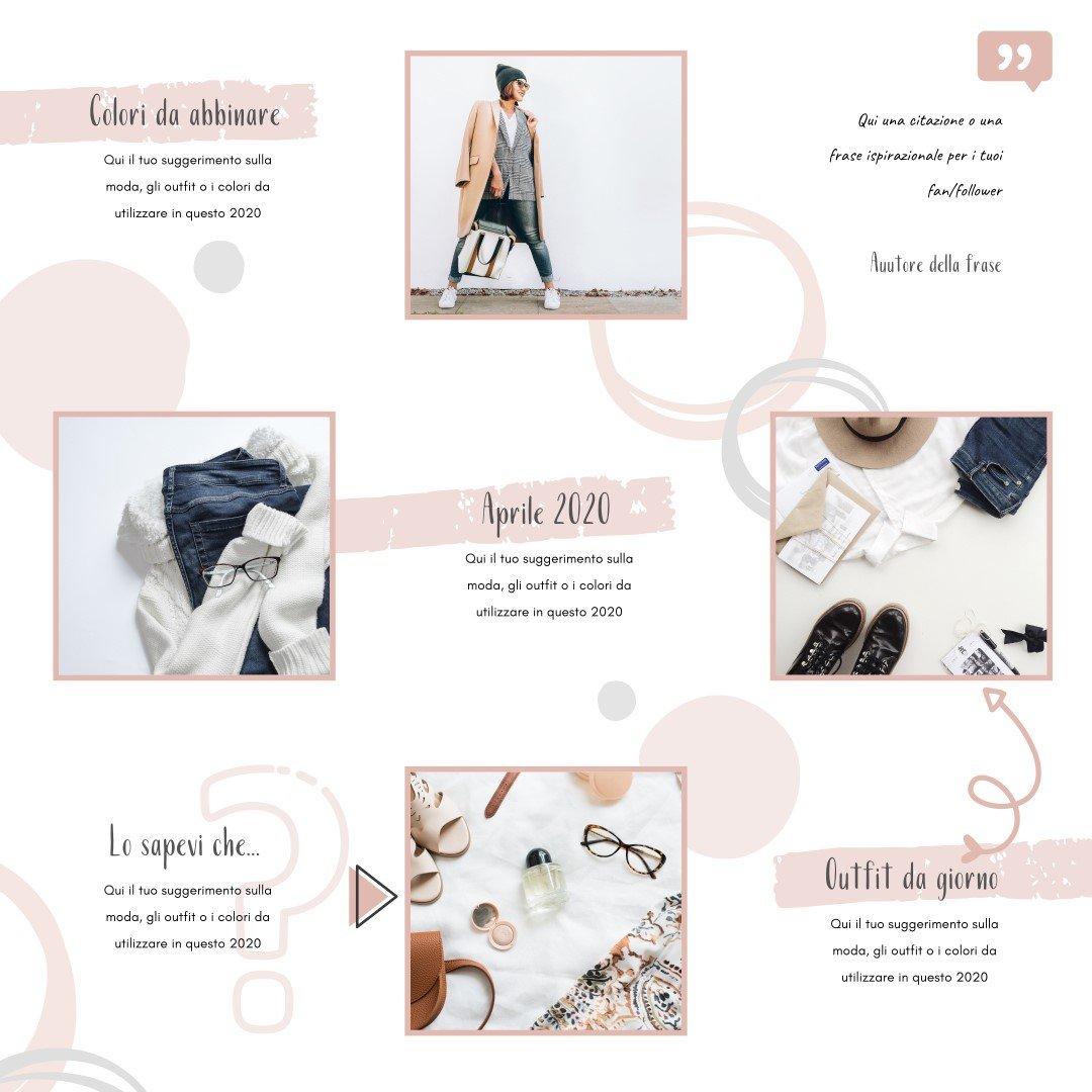 Come creare un Puzzle Feed su Instagram con Canva | Cinzia Di Martino