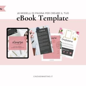 eBook Template Canva | Blogger | Cinzia Di Martino