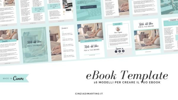 eBook Template Canva | Azure | Cinzia Di Martino